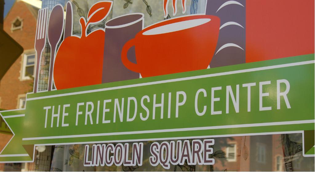 The Friendship Center front window