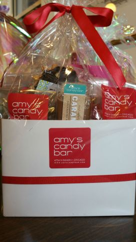Amy's Candy Bar gift bag / For the Love of Pets 2015