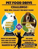 Pet food drive challenge