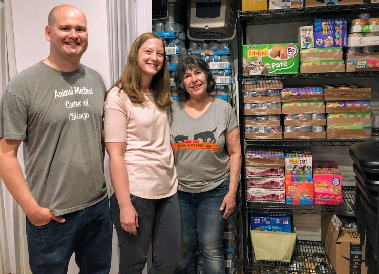 Pet food delivered to the Friendship Center on May 16, 2019